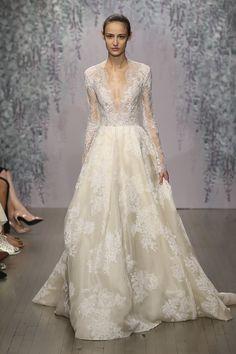 Monique Lhuillier — Winslet wedding dress