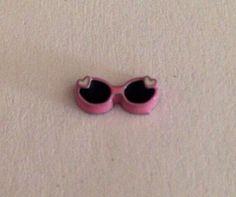 Pink sunglasses floating locket charm