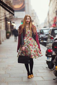 floral dress & jacket