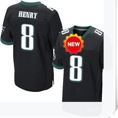 $66.00--8 Chas Henry Jersey - Nike Stitched Alternate Philadelphia Eagles Jersey,Free Shipping! Buy it now:http://is.gd/1Atlzs