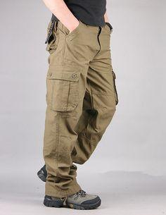 CMCYY Mens Winter Elastic-Waist Fleece Lined Sweatpants Warm Pure Color Pants