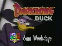 Darkwing Duck promo (1990s) - YouTube