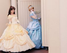 Belle Cosplay, Disney Cosplay, Disney World Characters, Disney Dresses, Disney Love, Ever After, Disney Parks, Beauty And The Beast, Got Married