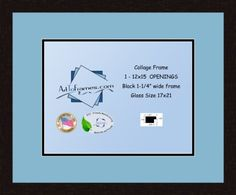Art to Frames DoubleMultimat50371689FRBW26061 Collage Frame Photo Mat Double Mat with 1  12x155 Openings and Espresso frame *** You can find more details by visiting the image link. Note: It's an affiliate link to Amazon.