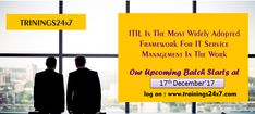 #Trainings24x7  #ITIL V3 #Foundation #Training Join our training and certification:
