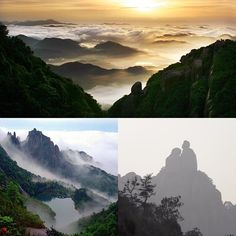 """According to the legend, an old granny planted orchids in the mountains in the Yao Period (Yao, a legendary monarch in ancient China), and a Taoist priest helped her to ascend and become an immortal, therefore, people called her """"Tai Mu"""" or """"Mu"""", """"Tai"""" is adopted to show respect for the old granny, hence the mountain was renamed as #Mount Taimu.#beautifulchina #travelling #mountTaimu#naturephotography #naturegeography #ningde"""
