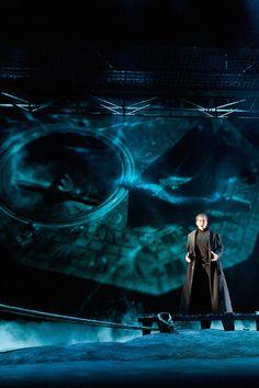 Der Fliegende Holländer on Behance - Director Federico Grazzini - Set Designer… Stage Lighting Design, Stage Design, Ballet Theater, Theatre Stage, Scenography Theatre, Drama Stage, Set Design Theatre, Stage Set, Scenic Design