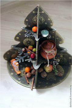 Новый год 2016 ручной работы. Ярмарка Мастеров - ручная работа. Купить Елка-полка. Handmade. Новый Год, новогодние подарки