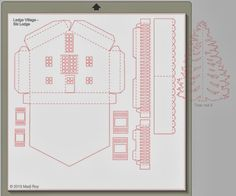 Ashbee Design Silhouette Projects: Ledge Village • Ski Lodge