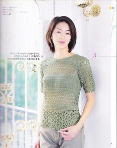 Ivelise Feito à Mão: Blusa Em Crochê Com Vários Pontos Fantasia