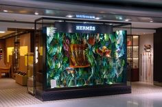 The Eternal Jungle - Hermès by Zim And Zou , via Behance