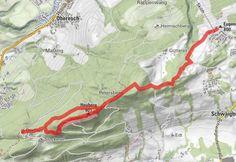 Von Schwaighofen über den Heuberg nach Daxlueg - BERGFEX - Wanderung - Tour Salzburger Land Hotel Berghof, Signage, Hay, Tours, Alps, Hiking