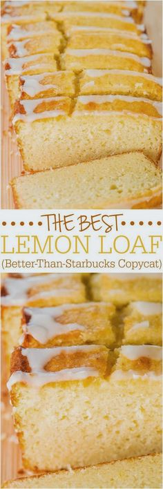 "The Best Lemon Loaf   ""These Look Absolutely Amazing Yummy and Delicious"""