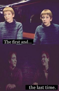 WHY DID FRED HAVE TO DIE :'( saddest moment by far. Along with Dobby. And Dumbledore. And damnit I hate when fictional characters die!