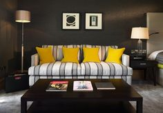 Boutique Hotel | Northcote Hotel interior design by Ward Robinson | Lancashire | Seating
