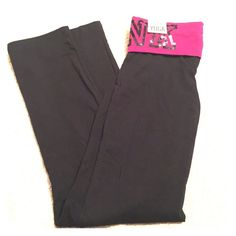 VS PINK Yoga Pants VS Pink Yoga Pants, Never worn, New with tags, size small; willing to TRADE PINK Victoria's Secret Pants Track Pants & Joggers