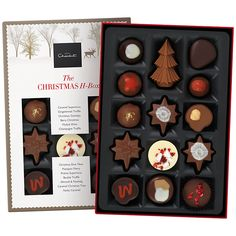 Buy Hotel Chocolat Classic Christmas H-Box Collection, 150g | John Lewis
