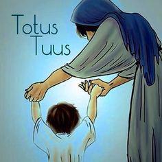 Inteiramente tua ó mãe ❤️