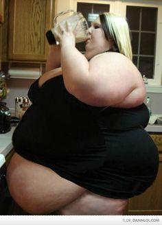 WTF! Is She Drinking Lard?!