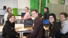 Aleksander Husoy's classes use video games as text and context at the school in Norway.
