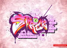 Create Quick Graffiti Text Effects With Coreldraw Good Tutorials Design Tutorials Graffiti Tutorial