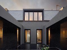 Faroe - pods- evening: Paul+O Architects