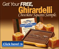 Free Sample of Ghiradelli Chocolate - Coupon Nurse