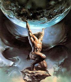 ATLAS ( MYTHOLOGIE )
