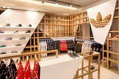 Adidas Originals fashion store by ONOMA Architects, Athens, Greece sports