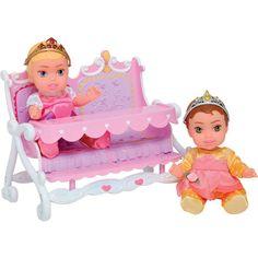 Disney Princess Twin Dolls with Accessory, Aurora/Belle Disney Princess Babies, Princess Toys, Baby Princess, Little Princess, Baby Doll Nursery, Baby Girl Toys, Toys For Girls, Baby Dolls, Toddler Toys