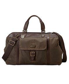 Fossil Bag, Estate Duffle Bag - Mens Belts, Wallets & Accessories - Macy's