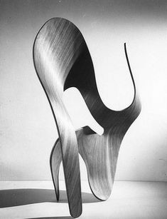 Charles & Ray Eames, Molded-plywood sculpture, 1943_USA