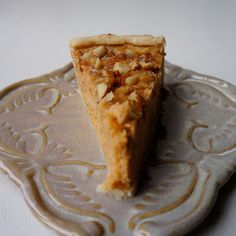 sweet potato almond pie