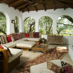 Spanish Style Enclosed Patio Design, Pictures, Remodel, Decor and Ideas - page 10