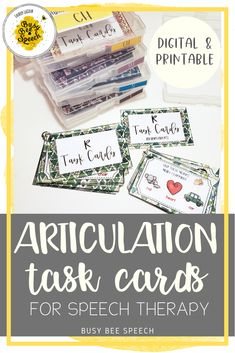 This speech therapy digital and printable resource is the perfect grab and go tool. These task cards are perfect for articulation drill and practice during distance learning or during therapy.