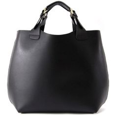Zara shopper bag ❤ liked on Polyvore