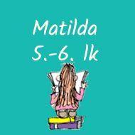 Matilda Kunnari lukupiiri, lukusuunnitelma ja lukudiblomi Teaching Literature, Matilda, Back To School, Language, Culture, Reading, Poster, English, Languages