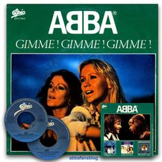 """Abba single """"Gimme! Gimme! Gimme! (A Man After Midnight)"""" from Italy #Abba #Italy #Vinyl #GimmeGimmeGimme My Life, About Me Blog, Fans, Italy, Grupp, Cover, Photos, Music, Pictures"""