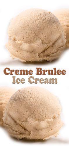 Creme Brulee Ice Cream Recipe