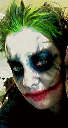 Halloween makeup. The Joker Jbroomhall makeup artist & body art