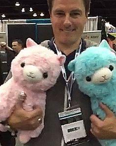 JB and his alpacas 1