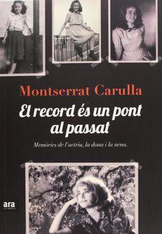 El Record és un pont al passat / Montserrat Carulla. Cinema, El Record, Memories, News, Cover, Books, Car Car, Design, Textbook