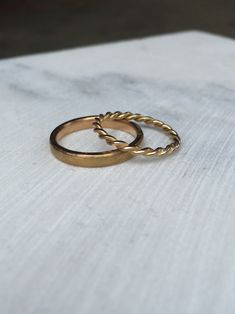 I love the way Alice and Piers wedding rings are individual and unique. Piers made from his recycled grandfathers gold wedding ring and Alice's Rose gold twisted wire. Diamond Wedding Rings, Bridal Rings, Diamond Rings, Wedding Bands, Morganite Engagement, Morganite Ring, Engagement Rings, Commitment Rings, Custom Jewelry