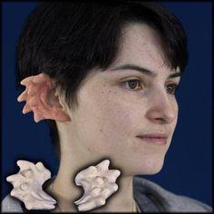 Spiky costume ears
