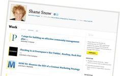 Contently: portfolio online para escritores, redatores e jornalistas