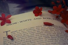 "fairytalemood: ""Snow White and Rose Red"" by Amber Ornelas"