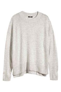 Пуловер с фина плетка | H&M