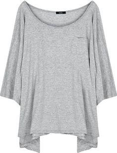 ShopStyle: Bassike Oversized organic cotton T-shirt