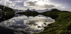 The Mont, Alps, First Night, Mother Nature, Tent, Europe, River, Mountains, Switzerland