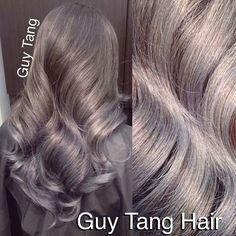 Guy Tang - My client wanted to have Grey Ombre for her wedding so I gave it to her and she loves it!